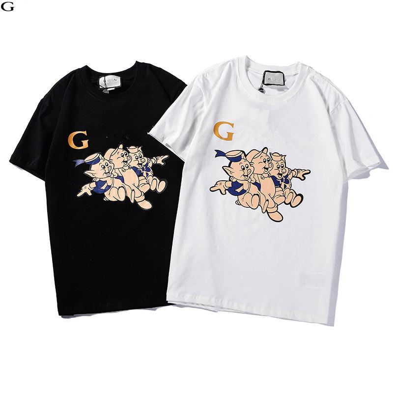 e9eb632f Men Women Casual Designer T Shirts New Fashion Summer Funny Cartoon Pig  Printing Tees Short Sleeve Crew Neck Cotton Brand Polos Buy Funny T Shirts  Online ...