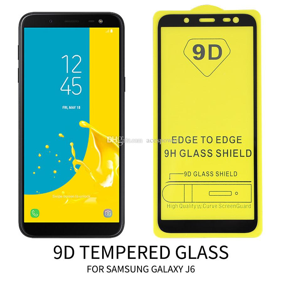 Tam Kapak Ekran Koruyucu Temperli Cam iphone 12 Mini SE 11 Pro Max XR XS X Samsung Huawei Xiaomi Hiçbir Paket