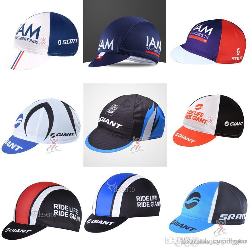 Pro Team IAM GIANT Cycling Cap High Quality Outdoor Sport Hat For Men And  Women MTB Bicycle Equipment F62004 UK 2019 From Lvjianpingguo 741f5105cea6