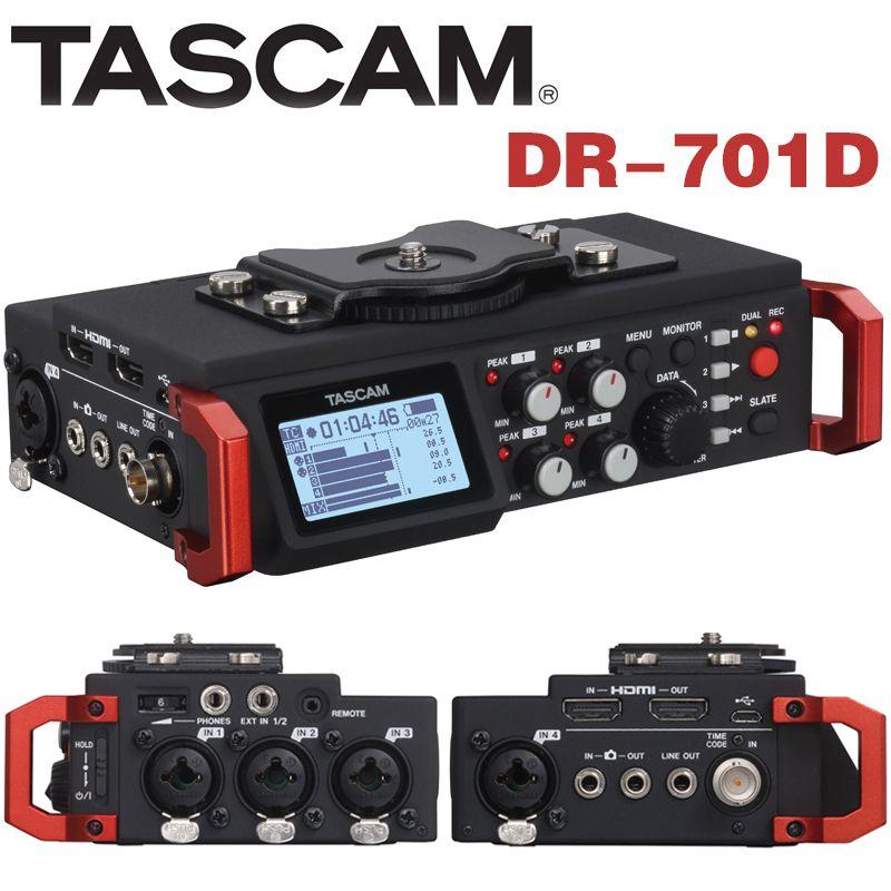 Original Tascam Dr-60dmkii Handheld Digital Voice Recorder Professionelle Linear Pcm Recorder Mixer Dslr Vide Für Dslr Slr Kamera Tragbares Audio & Video Digital Voice Recorder