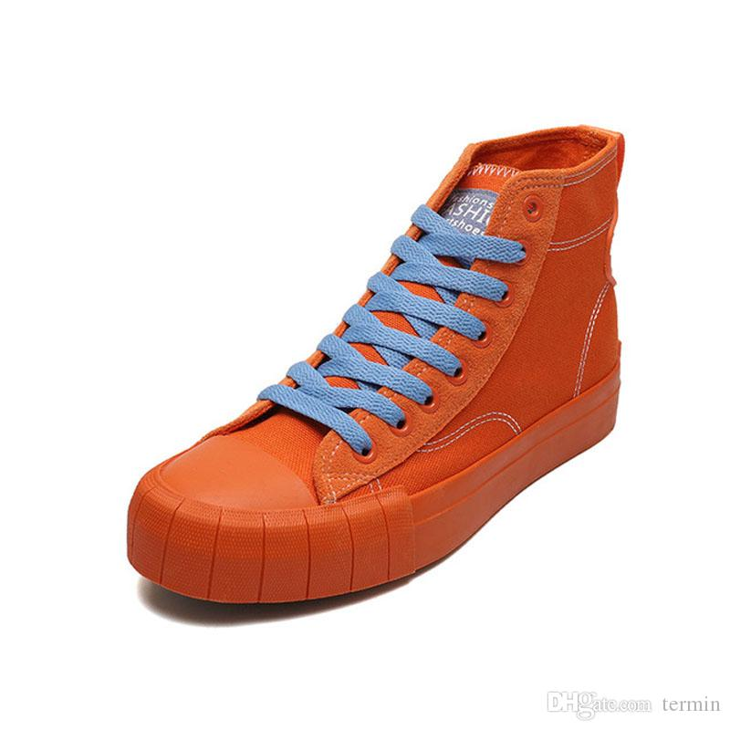 Women Shoes Orange Color Leather Leisurel Shoes Brogue Shoe Fashion Flats Popular Shoes Quality Flattie. SP 037