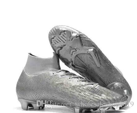 save off e22e3 cc6b0 2019 Mercurial Superfly V 360 Elite FG 39-45 Outdoor Shoes Neymar CR7 Shoes  Ronaldodo FG CR Outdoor Shoe chaussures high ankle Cleats