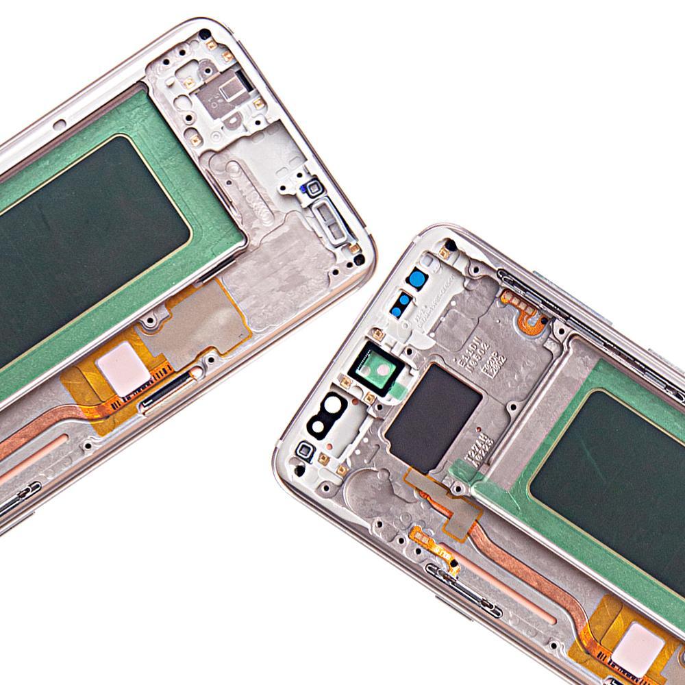Super Amoled pour Samsung Lcd S8 plus G955 / G950 S8 LCD écran tactile Digitizer Assemblée NO burnshow Aucun pixel mort