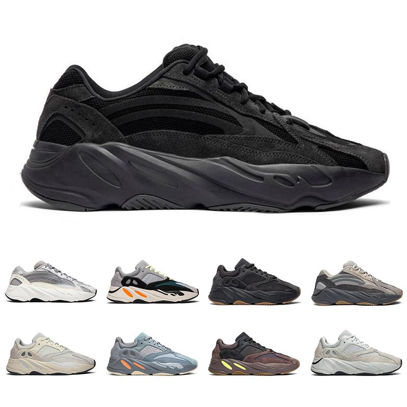 New arrival 700 men women running shoes Utility Black Vanta Tephra Analog Geode Inertia Mauve mens trainers fashion sports sneakers