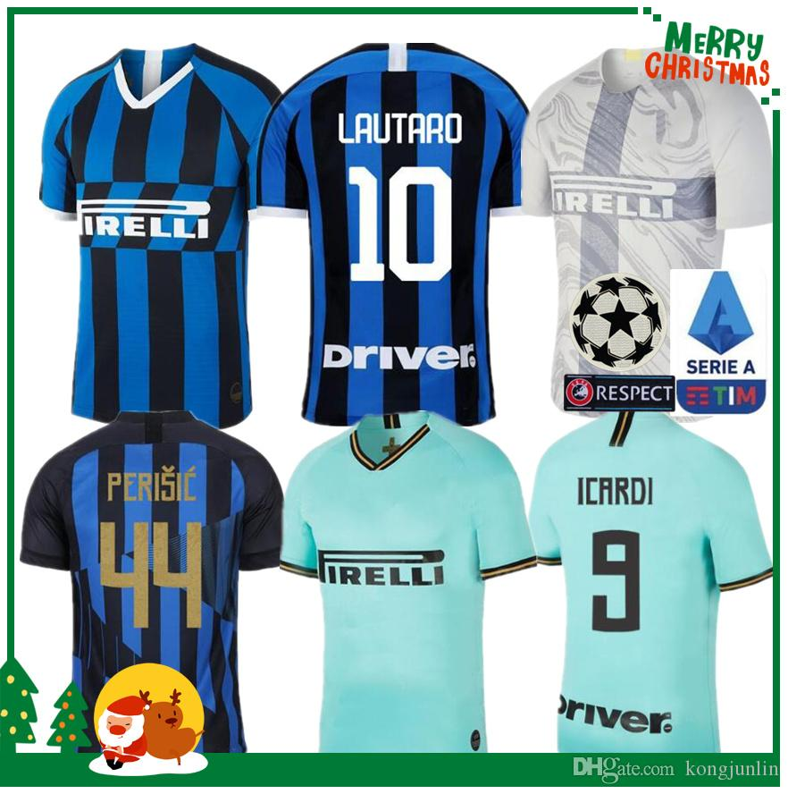 innovative design 23c9c fe186 2019 Inter jersey CANDREVA EDER ICARDI JOVETIC Milan home Kondogbia Jovetic  2020 Icardi sports 19 20 kids boy kit inter anniversary shirts