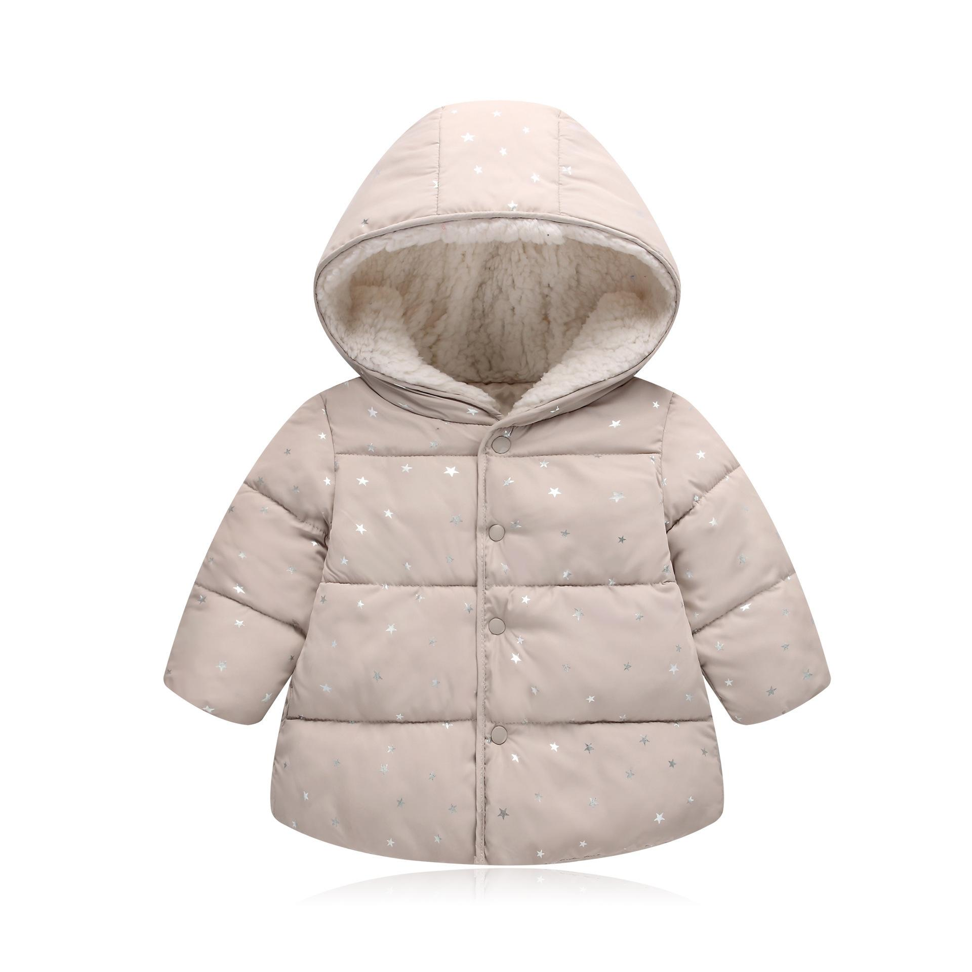cbfe43f49 good quality kids fashion winter jackets 2019 new solid hooded baby girls  boys cotton thincken coats infant outerwear warm clothes