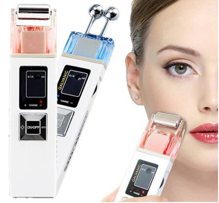 Beauty Personal Care Galvanic Microcurrent Skin Firming Whiting Machine Iontophoresis Anti-aging Massager Skin Care