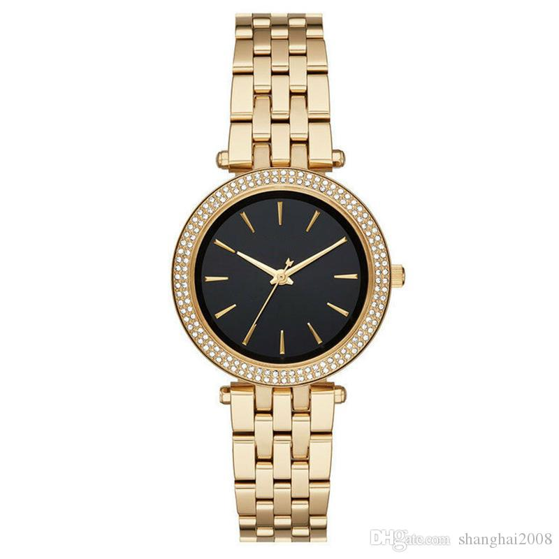 f9927fa0746a New Quartz Movement Watch 3364 3365 3366 3405 3738 Ladies Silver Gold  Wristwatch Stainless Steel Strap Watchs Sport Watches From Shanghai2008