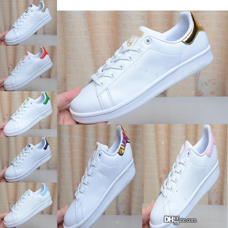 taille 40 be6dd d7ca9 2019 Luxury Women Espadrilles Bowling Shoes Chaussure Homme Girl Women Men  Comfortable Flat Designer Stan Chaussures Smith Sneakers