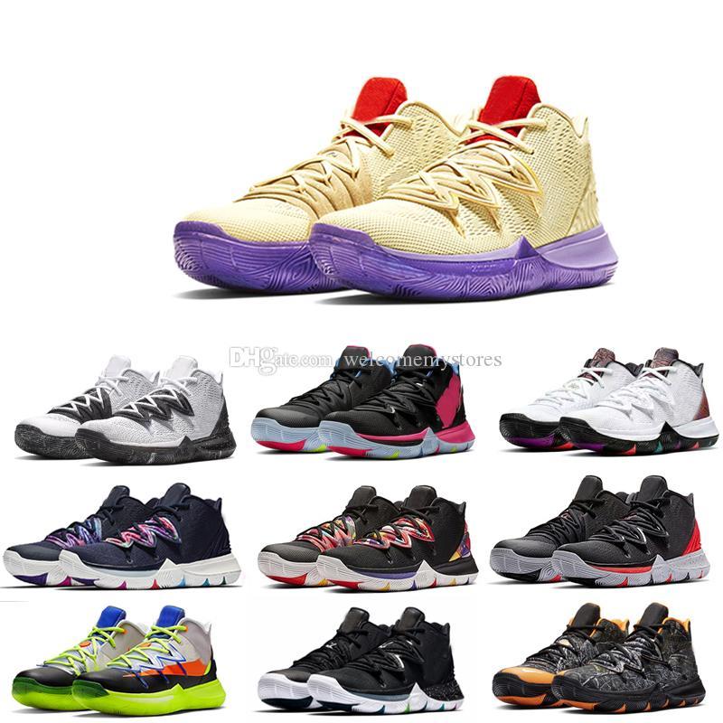 2019 scarpe da basket originali da uomo kyrie scarpe da ginnastica FlyTrap designer 5 II scarpe da ginnastica top size 40 46