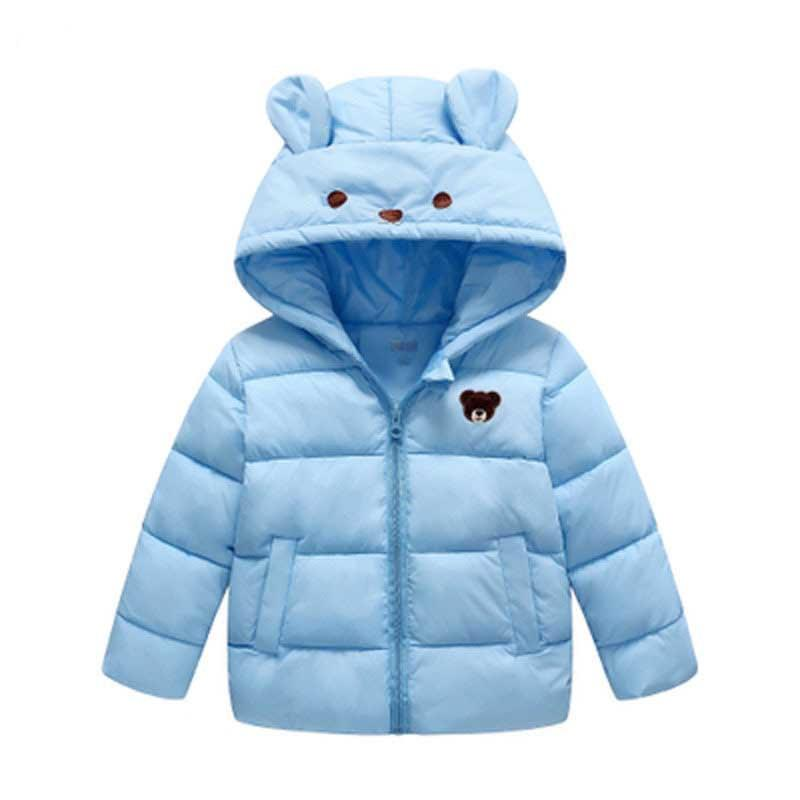03c644b3674a Children Jackets Boys Girls 2019 New Winter Down Coat Baby Winter ...