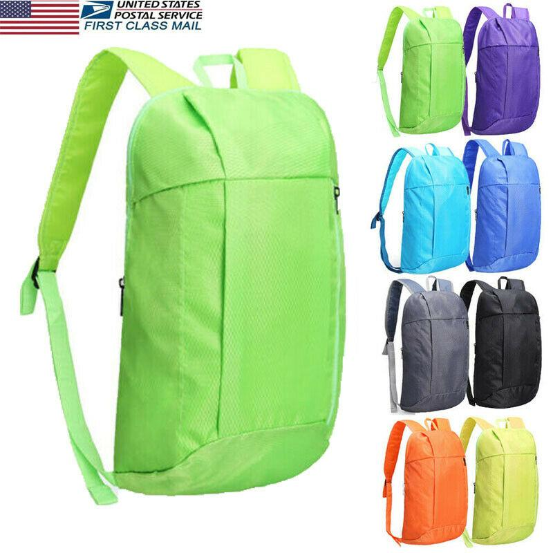 New Men Women Small Backpack Bag Outdoor Sport Travel Shoulder Sling Backpack nylon Oxford Waterproof Lightweight Foldable