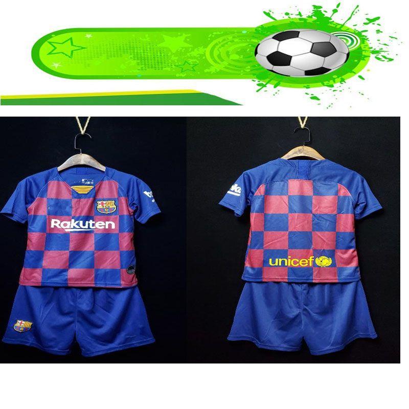buy popular 43975 0c559 2019 2020 Barcelona soccer jerseys 10 Messi kids kit Soccer Jersey