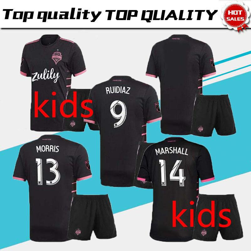 3448fc9dbcd 2019 Men Kids Kit 2019 2020 Seattle Sounders FC AWAY Soccer Jersey 19 20  MLS RUIDIAZ MORRIS LODEIRO MARSHALL Football Shirt From Jerseys suppliers