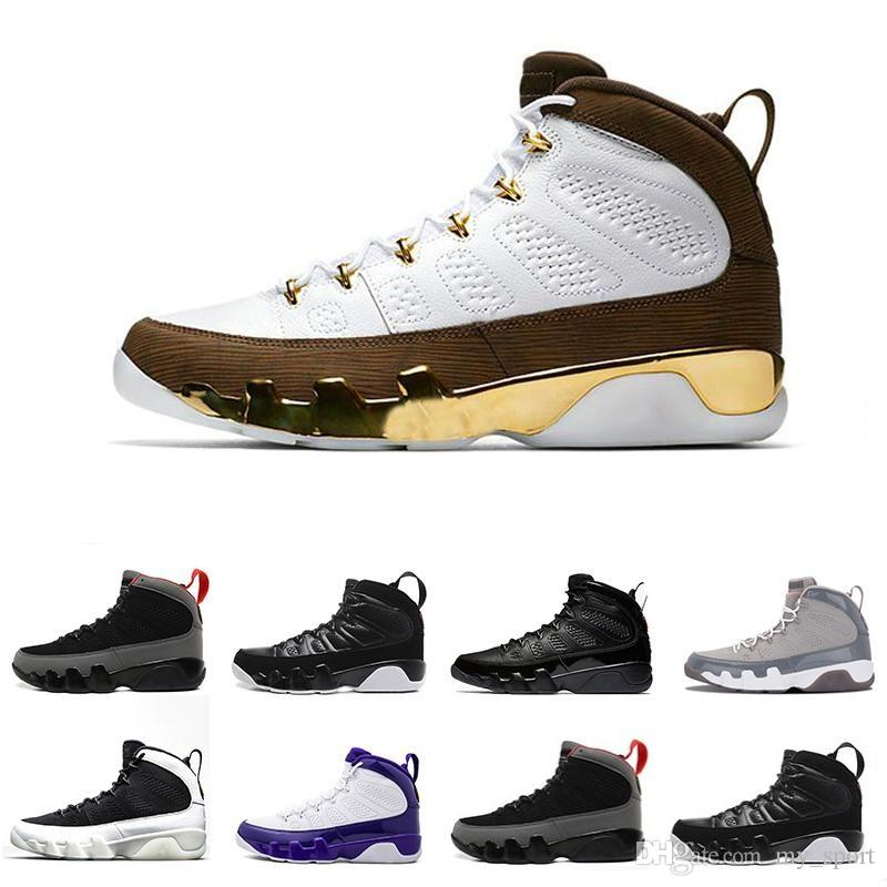 4e71f11f59cd86 Hot Sale Mop Melo 9 9s Mens Basketball Shoes LA Bred OG Space Jam ...