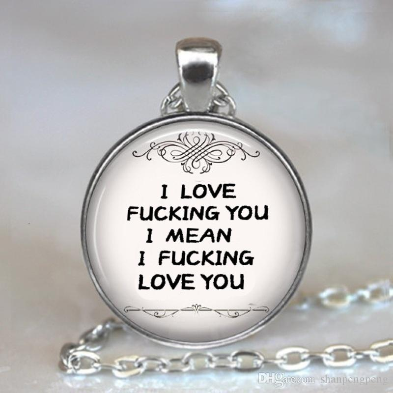 Funny Wedding Gifts.2019 Funny Anniversary Gifts Glass Pendant Necklace Gifts For The Husband S Wedding Anniversary Souvenir Gift For The Spouse