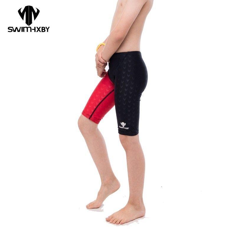 fb679604e7 2019 HXBY Boys Swimsuit Swimming Trunks Professional Training Swimsuit Boys  Kids Racing Children Boy Swimwear Shorts Mens Swim Trunks From Clothfirst,  ...