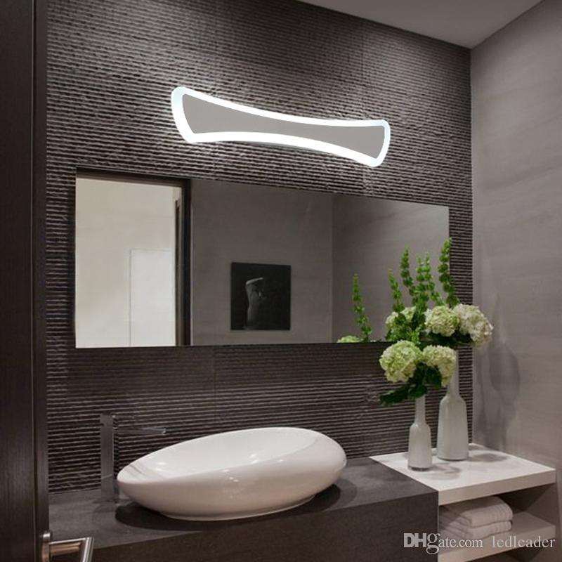 Mode LED Spiegel beleuchtet Acryl Wandleuchte dekorative Kunst für  Badezimmer Gang Licht - Le21