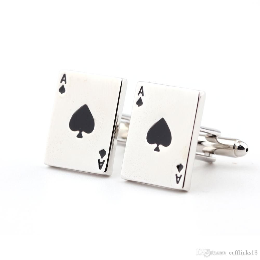 a917b19209c Compre Abotoaduras De Camisa Masculina No Poker De Cufflinks18 ...