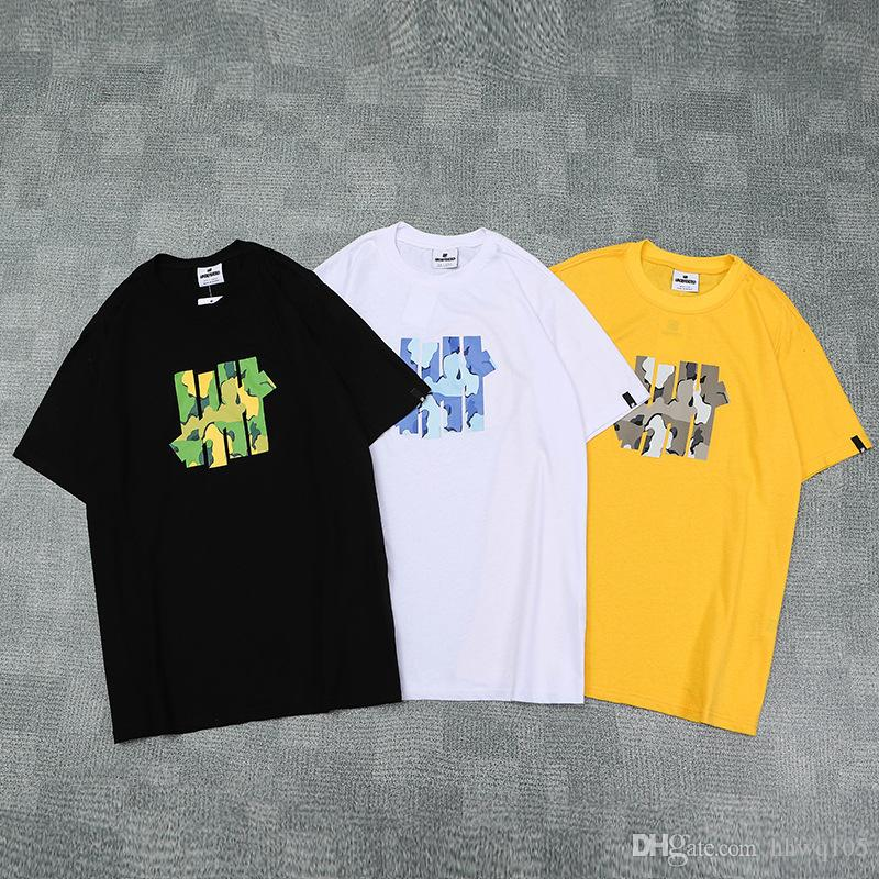 d4fc988e426 New Arrival UNDEFEATED Men Women 100% Cotton Shirts Short Sleeve O Neck  Jogger Top Unisex Skateboard Tee PXI0301 Shirt Site Printing Of T Shirt  From Hhwq105 ...