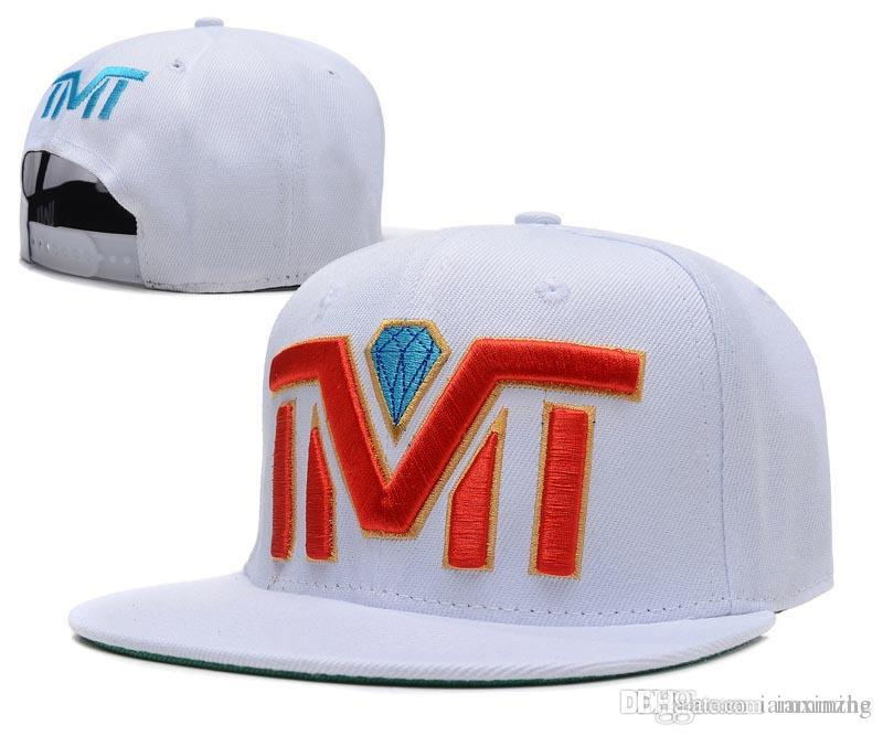Fashion Baseball Caps Snapback Hats Adjustable TMT Hats Women Man Snapbacks  Hip Hop Street Caps TMT Flat Hats