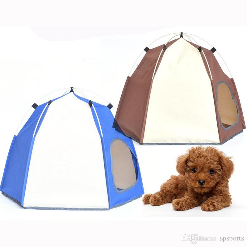 Automatic Opening Pet Tent pop up Shelter Pets Tent for Dog and Cat With Individual Packaging Bag