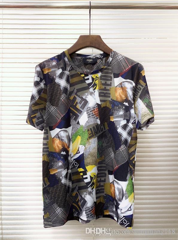 ef532f97885b New Men S Summer T Shirt Large Size Short Sleeved T Shirt Letters ...