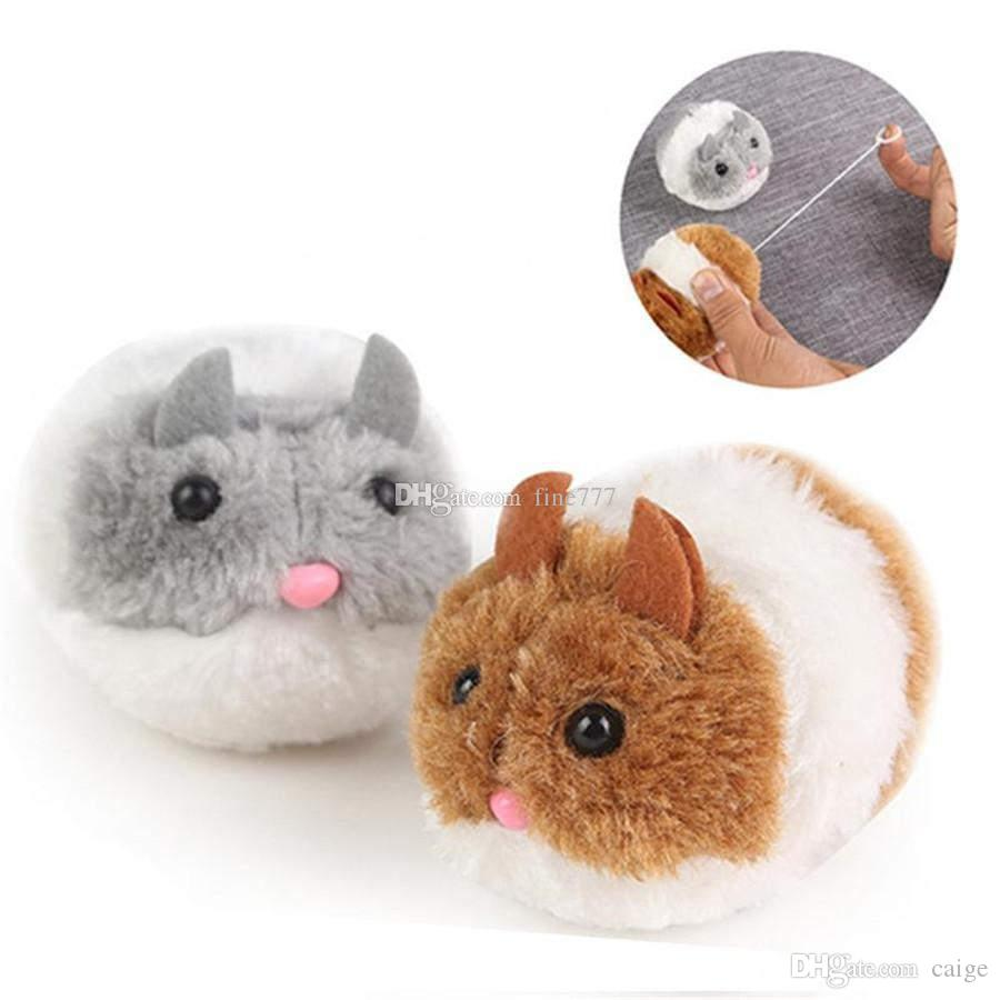 Plush Toys Vibrate a little fat mouse and vibrate Cat Action Figures Doll Soft Stuffed Animal Toys Stash Llama cartoon Stuffed doll