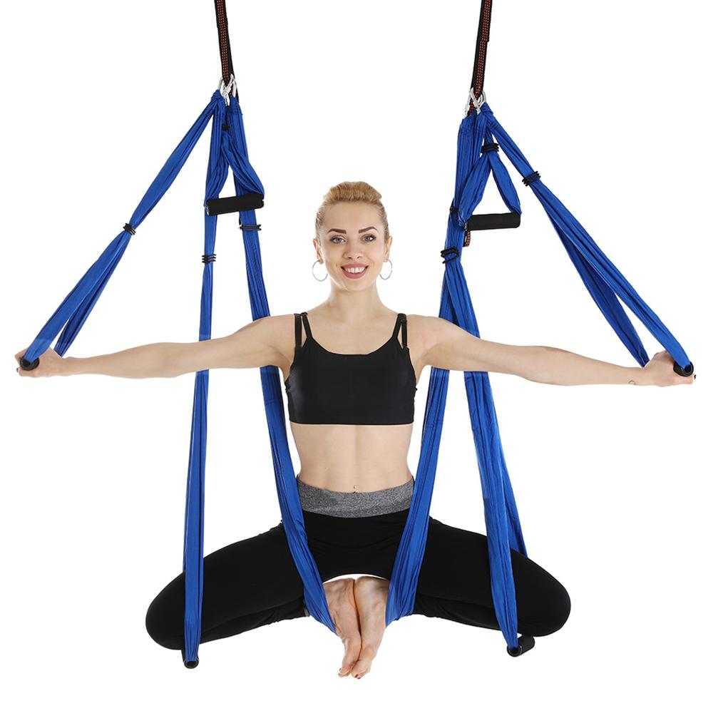 Supply New Yoga Elastic Belt Fitness Yoga Belt Elastic Anti-gravity Hammock Resistance Belt Accessories 100% Original Sports & Entertainment