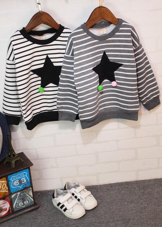 3c4896a16e4eb Wholesale 2019 New Winter Item Boy Stripe Star Warm Top Kids Hooded Denim  Girls Jacket Boys Coat Zipper Anna Leggings SPIDERMAN Jackets Kids Jackets  On Sale ...