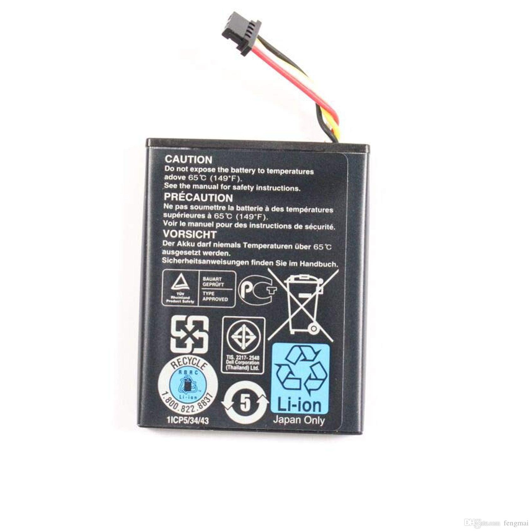 Battery Type 7VJMH T40JJ for Dell PERC H710, H710P, and H810 RAID  Controllers
