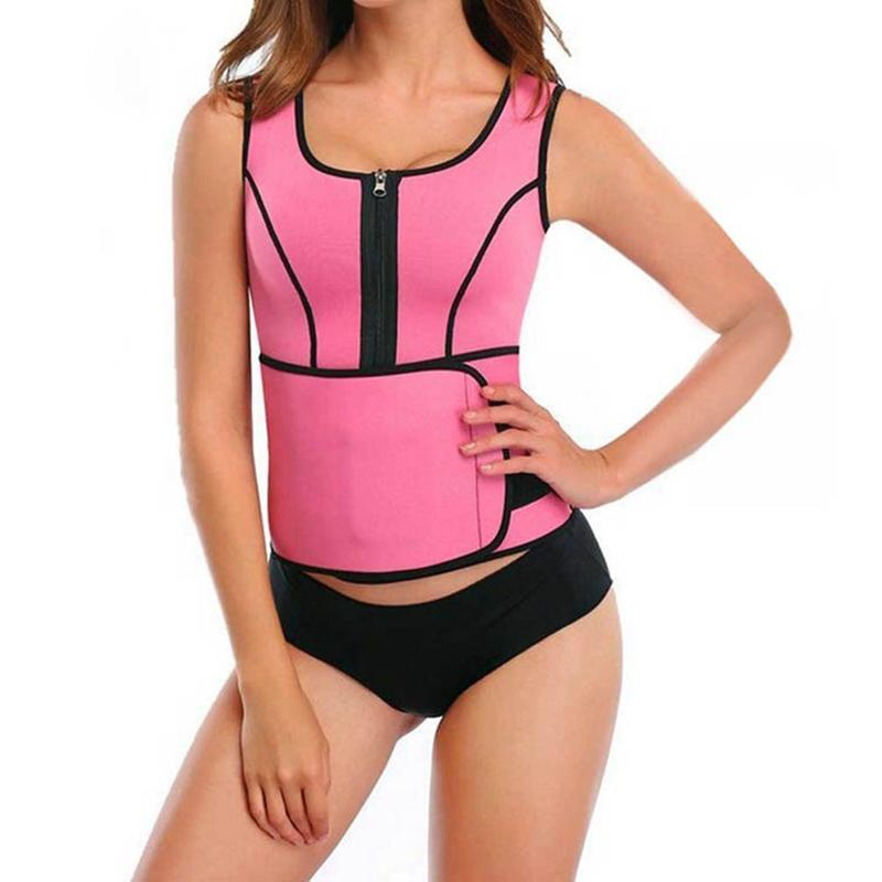c6bfce262a 2019 Hot Waist Trainer Body Shapers Sweat Sauna Arm Shaper Back Shoulder  Corrector Slimming Vest Shapewear Weight Loss Waist Shaper From  Guichenshirt