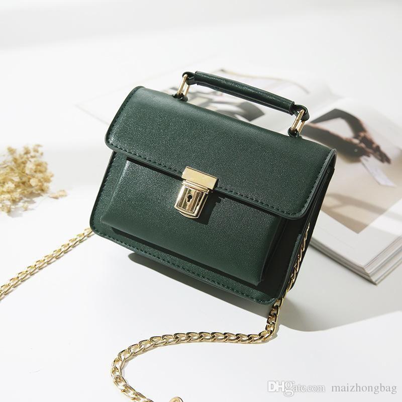 ffe14c7f35b1 2017 New Women Bag Korean Fashion Handbag Double Bag Pocket Shoulder  Messenger Bag Small Square Made In China Clutch Bags Designer Bags From  Cn00