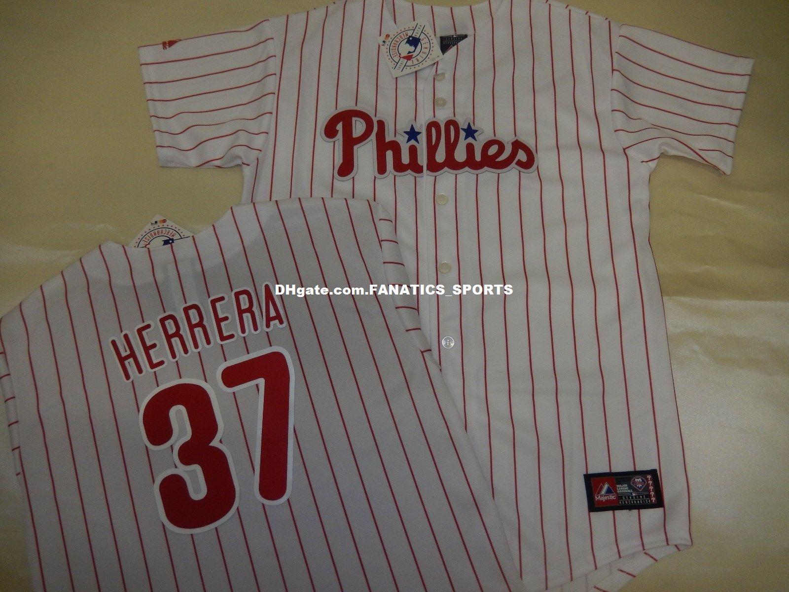 Wholesale Cheap Philadelphia Phillies ODUBEL HERRERA  37 Home Baseball  JERSEY Customize Any Name Any Number S-5XL White Wholesale Cheap  Philadelphia ... d1536465011