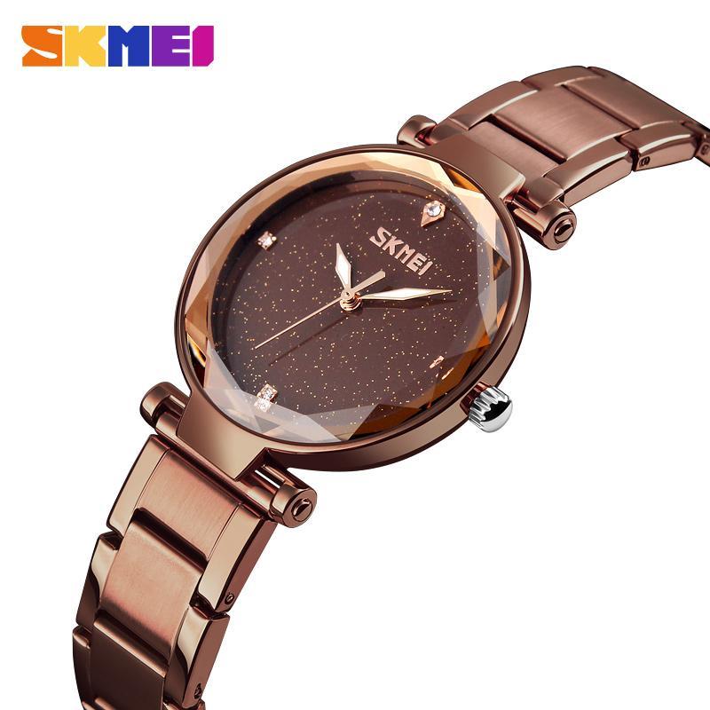 f2842ad0ab0 Compre Mulheres De Quartzo Relógios Elegante Top Marca De Luxo Feminino  Relógio Horas Senhoras Relógio Para Meninas Moda Relógio De Pulso Reloj  Mujer 2018 ...