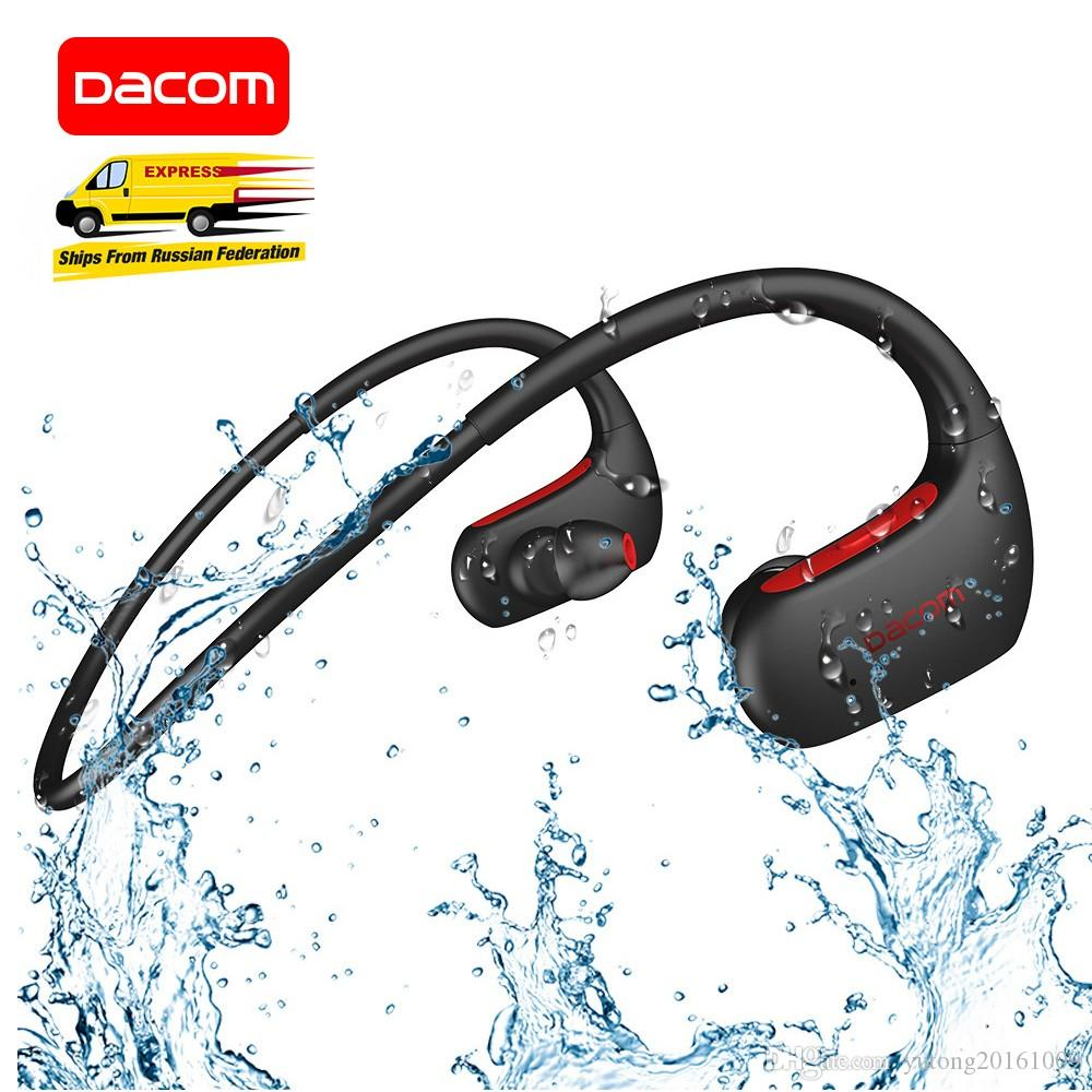 7606af8b9d5 DACOM L05 Sports Bluetooth Headphones Bass IPX7 Waterproof Wireless  Earphones Stereo Headset with Microphone for iPhone Samsung
