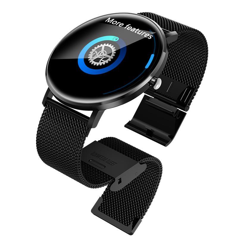 Relojes De Mujer M2 Reloj Inteligente Reloj De Moda Inteligente Hombres  Mujeres Impermeable Fitness Wearable Pulsera Smartwatch Dispositivo  Portátil Para ... da0c08e72652