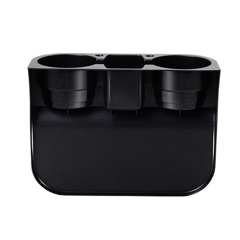 ounts Holder Drinks Holders Auto Cup Holder Vehicle Seat Cup Cell Phone Hold Universal Portable Multifunction Car Interior Organizer Bla...