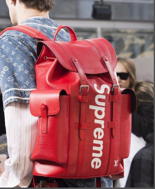 3e9042f2f23b Backpack Hot 2018 New Red Black Backpack Men S Women S Luxury Brand Multi  Function Handbag Outdoor Mountaineering Bag Travel Bag Handbags Bags From  ...