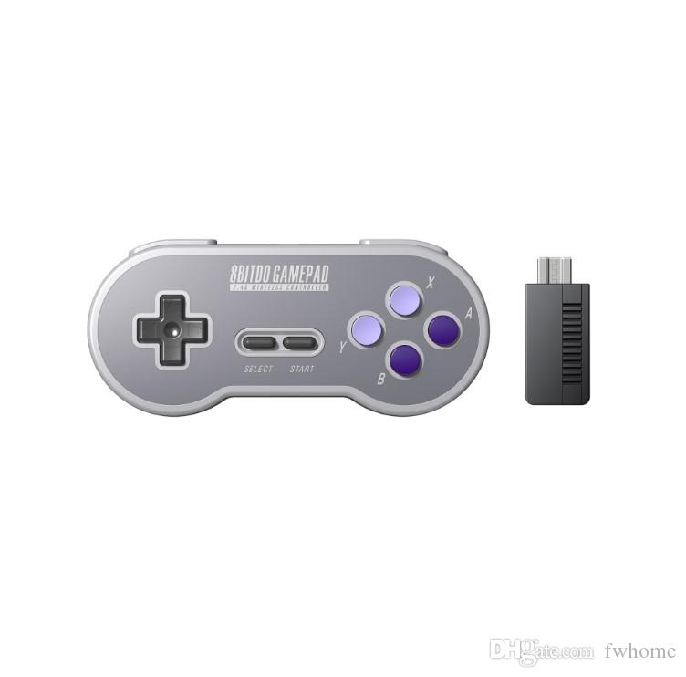 8BitDo SN30 Controller Wireless Gamepad With 2.4G NES Receiver Game Controller Joystick For Windows Android PC Mac Game Console