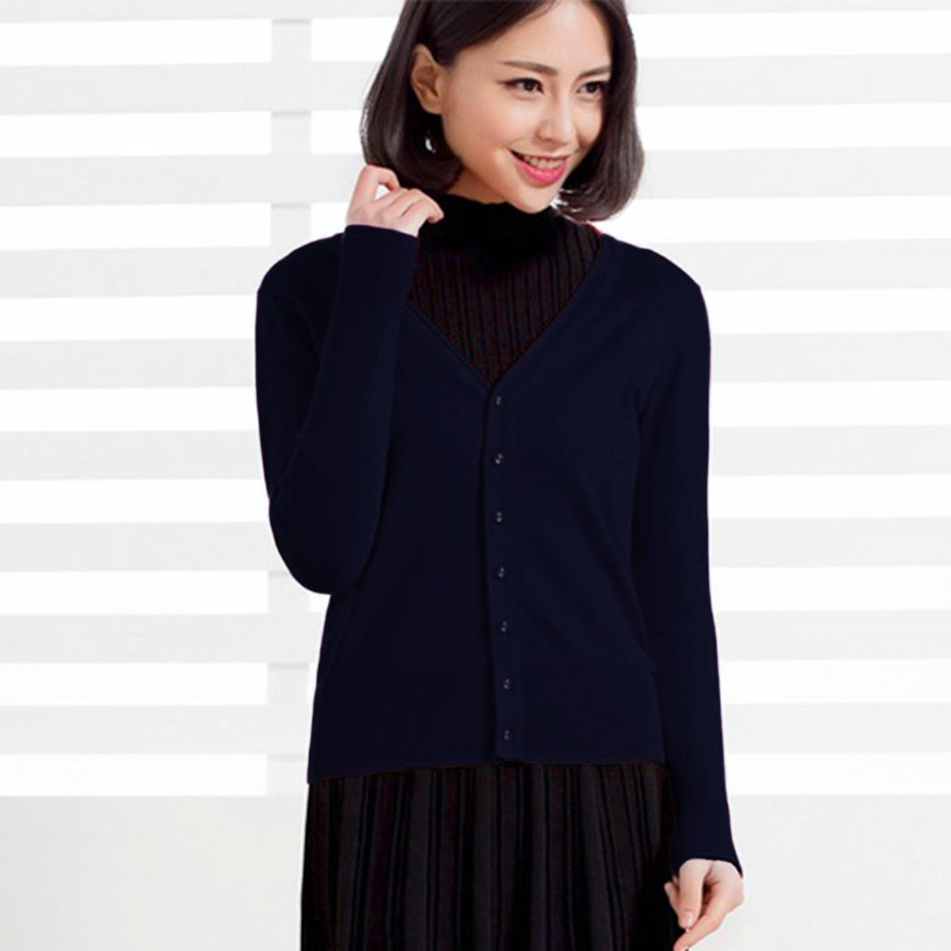 купить оптом женский кардиган вязаный свитер с длинным рукавом