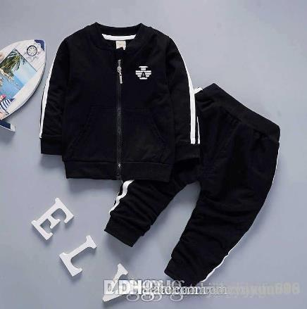0ebad0e264dfdb 2019 2018AMN Brand Baby Boys And Girls Tracksuits Kids Tracksuits Kids Coat    Pants  Sets Kids Clothing Hot Sell New Fashion Spring Summer From  Woerwofa999