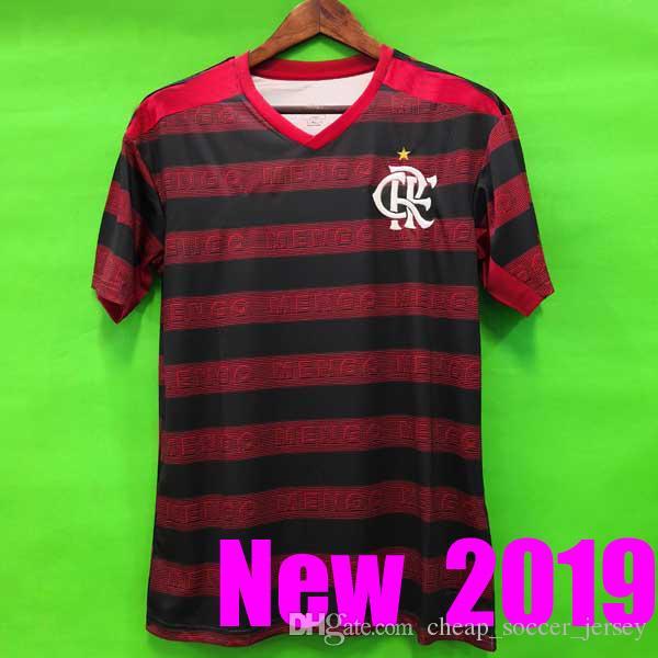 size 40 f840d b4aea NEW 2019 2020 CR Flamengo jersey GUERRERO DIEGO VINICIUS JR Soccer Jerseys  Brazil Flamengo camisa de futebol football soccer shirt