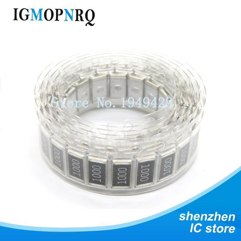 0,25w 100 unidades 1//4w de metal película resistencia resistencias 100r 100-ohm