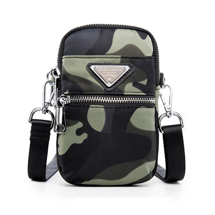 b85119b2436 Fashion Camouflage Crossbody Bags For Women Multi Level Nylon Waterproof Messenger  Bags Women Small Mini Shoulder Bags Girls Bag White Handbags Satchel ...