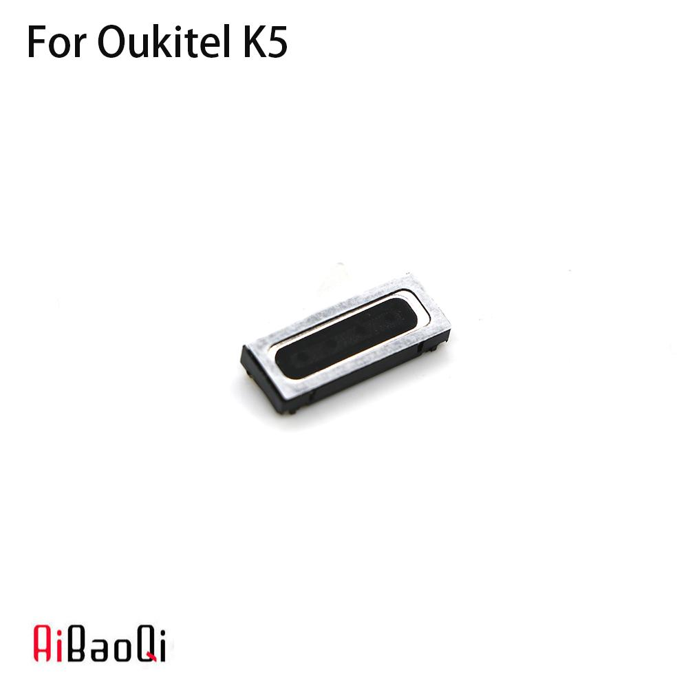 AiBaoQi New Original Oukitel K5 speaker receiver Front Ear Earpiece Repair Accessories For Oukitel K5 Phone