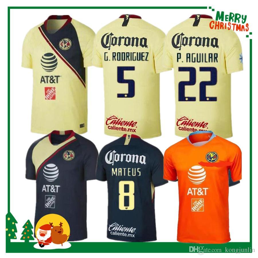 18 19 Camiseta América México Club 2018 2019 Camiseta De Fútbol Club De Fútbol  América Por Kongjunlin 1101b16d7a5e3