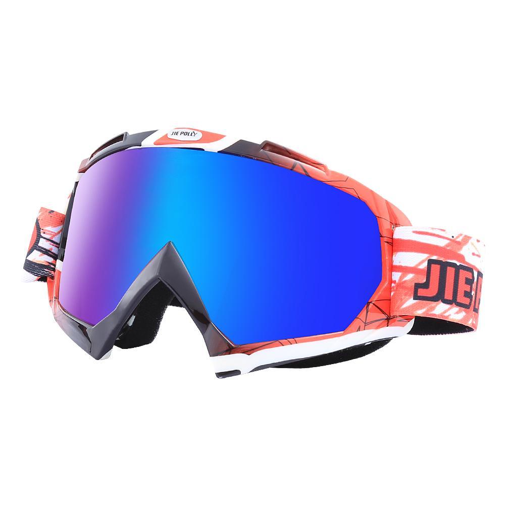 6557c8f494ab 2019 Ski Goggles Set Case Snow Glasses Outdoor Winter Sport Men Women Anti  Fog Skiing Eyewear Snowboard Skiing Sunglasses From Ekuanfeng