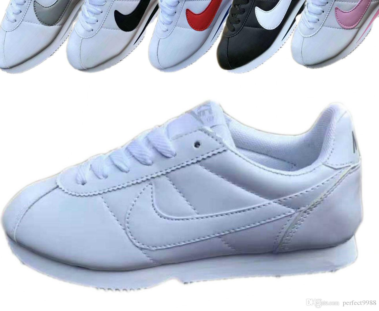 88ce44ce657 Casual Shoes CLASSIC CORTEZ QS Support Sneakers Training Fashion Women And Men  Sweetheart Shoes Ventilation Sports Shoes EURO 36 44 Mens Boots Moccasins  ...