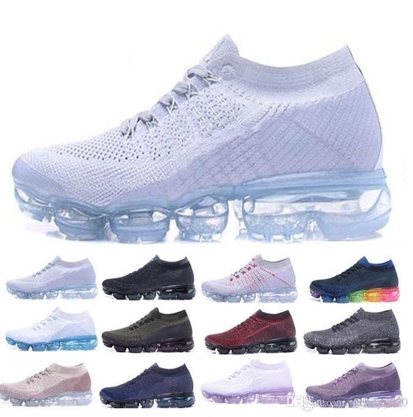0e9971e424575 Acheter Air Hommes Chaussures De Course Pour Hommes Casual Air Coussin  Trainers Femmes Athlétique En Plein Air Pas Cher Randonnée Jogging Marche  Sport ...